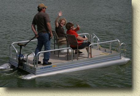 best pontoon boats for rivers 17 best images about mini pontoon boats on pinterest