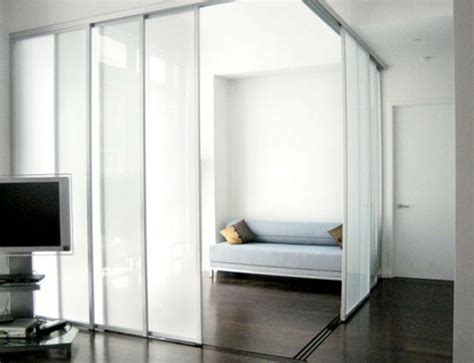 Sliding Doors As Room Dividers More Privacy In The Small Interior Sliding Glass Doors Room Dividers