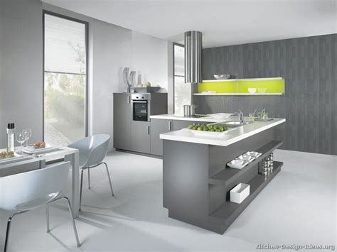 Kitchen Accent Colors With White Cabinets by Modern Gray Kitchen Cabinets With White Laminate Top
