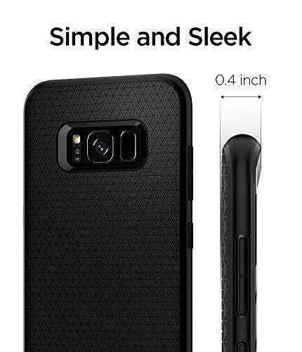 Spigen Liquid Air Armor Samsung Galaxy S8 Plus Original Black spigen liquid air armor galaxy s8 plus with durable flex import it all