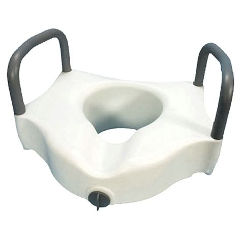 raised toilet seat with arms walgreens essential locking raised toilet seat with arms