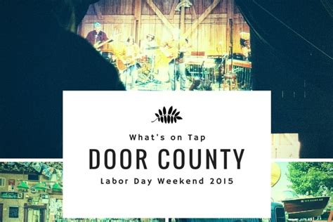 Door County Pulse by Marinafest Duathlon And More Plans For Labor Day Weekend