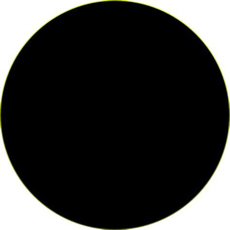 Circle Black black circle clip at clker vector clip