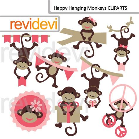 printable monkey birthday decorations 25 best monkey party themes clipart and printables