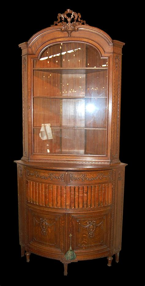 antique corner cabinet for sale french corner cabinet for sale antiques com classifieds