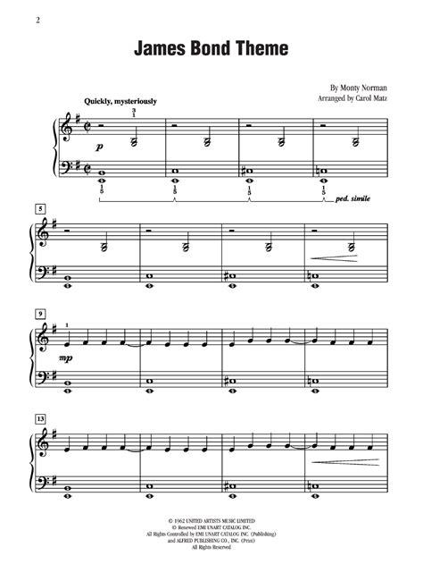 theme music james bond free download james bond theme by monty norman arr matz j w pepper