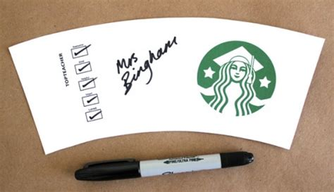 starbucks coffee cup template 8 best images of starbucks coffee logo printable
