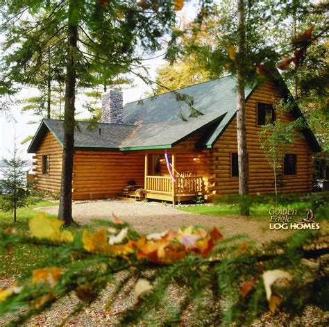 Eagle Cabins by Golden Eagle Log And Timber Homes Log Home Cabin