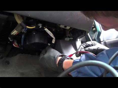 replace blower motor resistor astro chevy astro blower resistor diagnose replace doovi
