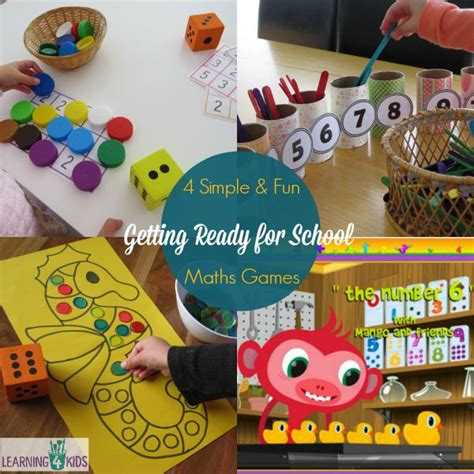 new year activities for 4 year olds 4 maths activities for getting ready for school learning
