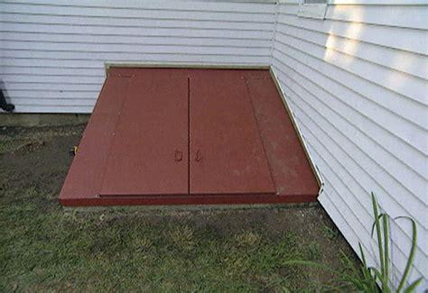 install  steel bulkhead basement door ron hazelton