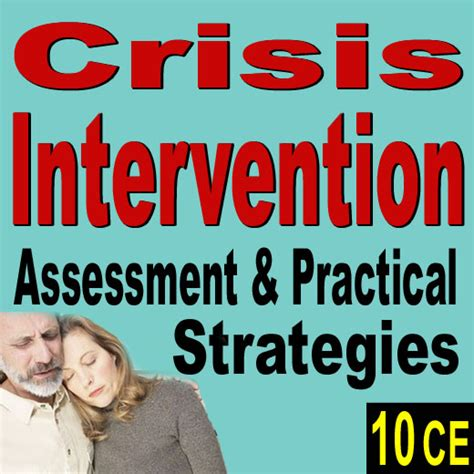 crisis intervention strategies a paradigm continuing education ceus for social