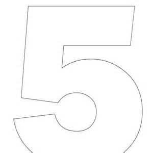 Best Photos Of Printable Numbers 1 To 5 Printable Preschool Number Coloring Pages