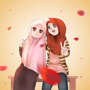 gambar kartun muslimah   sahabat