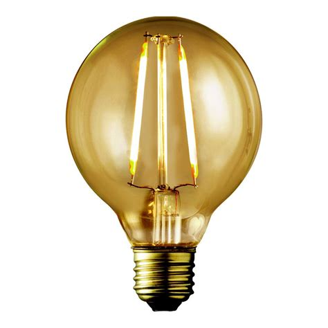 amber led light bulbs philips 40w equivalent vintage amber glass dimmable g25