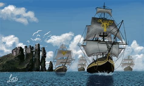 Kaos Of Thrones House Of Greyjoy 3d Premium Got 006 we do not sow 3d by lucsdf on deviantart