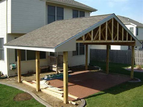 Patio Roof Designs Attached Covered Patio Ideas Pits Patio Patios And Patio Roof
