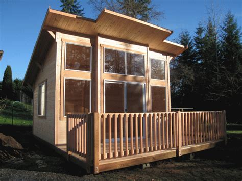 tiny house deck mighty sheds and cabanas gable style tiny house tiny