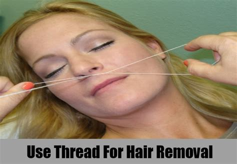 Plucking Your Hair top 5 home remedies for hair removal different methods