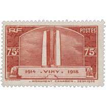 le timbre poste canadien pour informations manquantes pour le timbre vimy 1914 1918 monument canadien 26 vii 1936