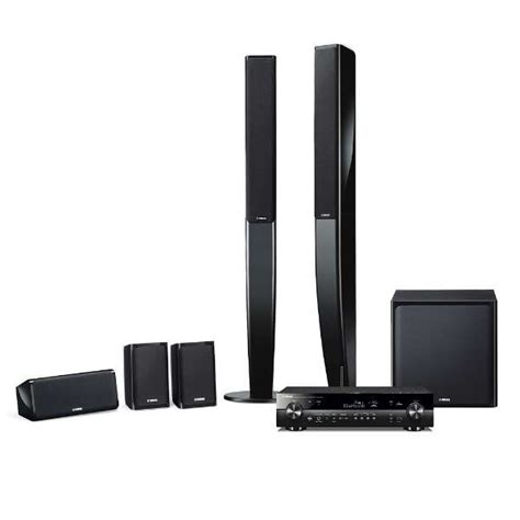 Yamaha Ns Pa40 Speaker 5 1ch Hitam ビックカメラ ヤマハ 5 1ch ホームシアターセット ブラック yht 903jp b ワイドfm対応