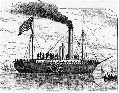 barco de vapor de robert fulton 191 cu 225 l fue el primer barco de vapor 191 qui 233 n lo invent 243 y