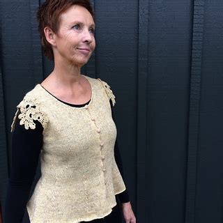 Gissel Blouse 3 ravelry top 6 pattern by lone gissel tine rousing