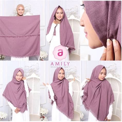 video tutorial hijab syar i modern 25 inspirasi tutorial hijab modern syar i terbaru 2018