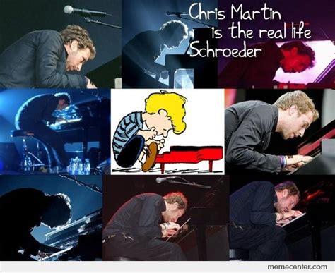 Chris Martin Meme - chris martin is the real life schroeder by ben meme center