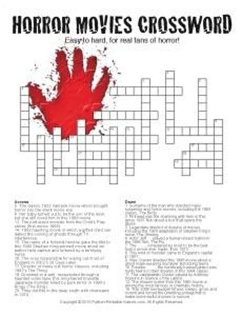 Halloween Crosswords Printables