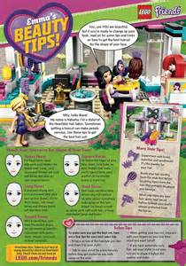 Parents hit out at Lego after toy's club magazine offers beauty tips to young girls   Daily Mail