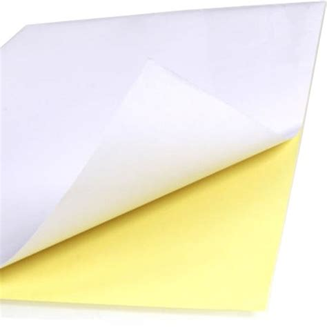 sticker printing paper a4 price 100pcs a4 sticker paper normal matte printing label