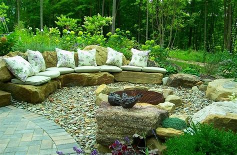 rock garden patio ideas rock garden design ideas to create a and organic