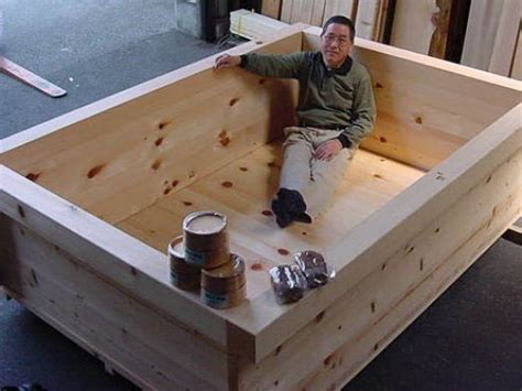 How To Build A Bathtub by Original Hinoki Wood Japanese Bath Tubs For Soaking And