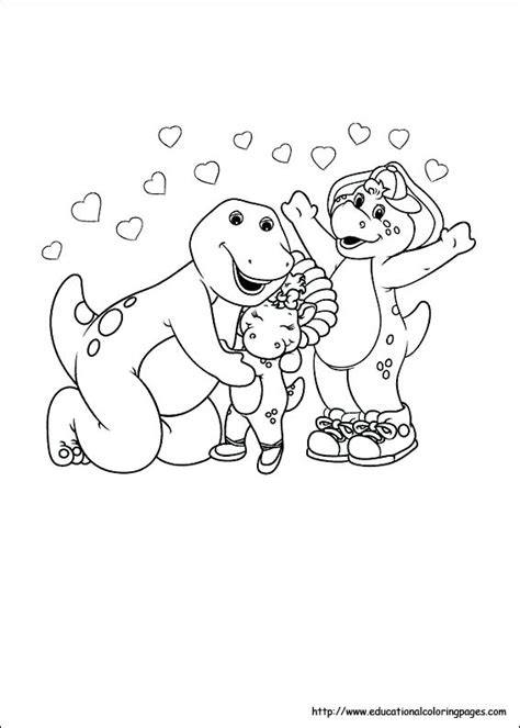 barney coloring pages games barney coloring pages educational fun kids coloring