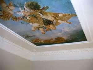 fresques murales d 233 corer ses murs et ses plafonds avec