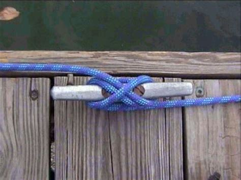 boat dock cleat knot blog cleat hitch