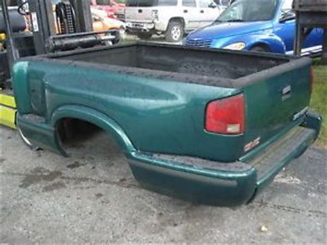 s10 bed 94 03 step side sport bed chevy s10 truck sonoma compelte