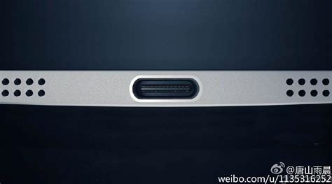 Port Usb Type C letv s bezeless smartphone leaks in images shows the usb