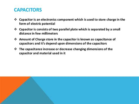 capacitance of capacitors depends upon nanomaterials for supercapacitors
