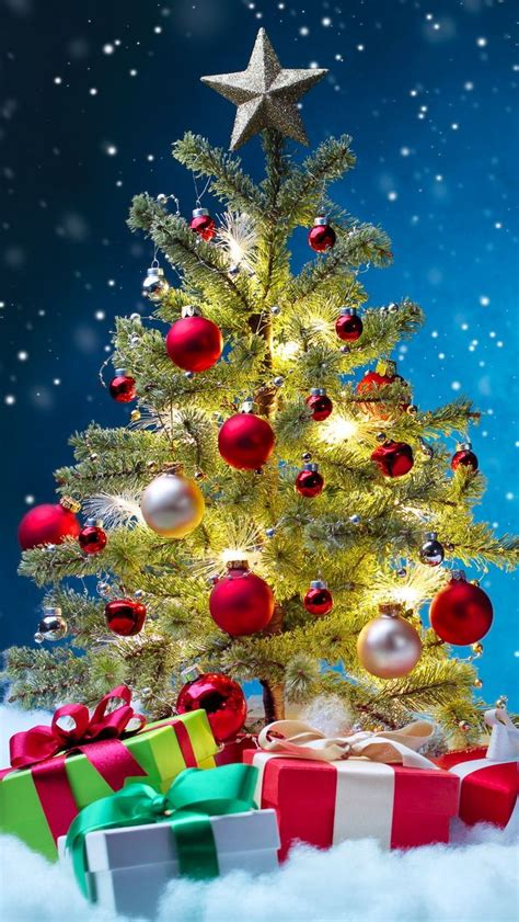 tap image   christmas wallpapers christmas tree