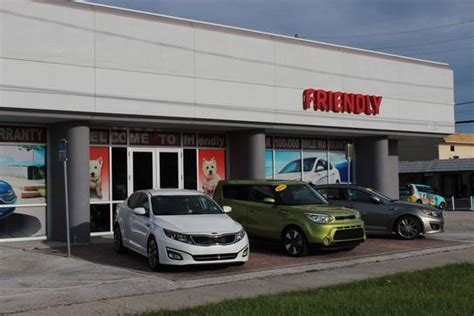 friendly kia car dealership in new port richey fl 34652