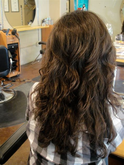 beach waves perm long hair candice white portland hairstylist perm beach waves