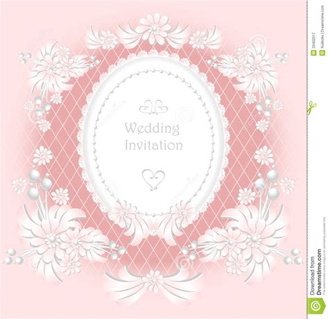 Congratulation Letter Wedding Invitation Wedding Invitation Or Congratulation With Pearls F Royalty Free Stock Photography Image 33402017