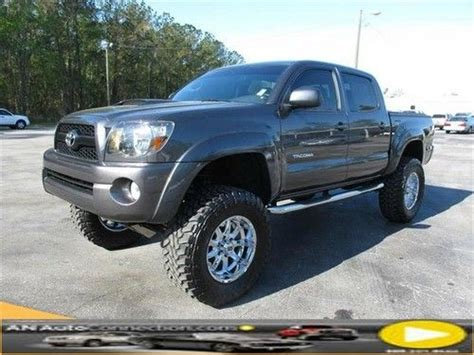 Used Toyota Tacomas For Sale Sell Used Toyota Tacoma Crew With Lift And Premium Wheels
