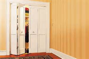 How To Hang Bifold Closet Doors Home Dzine Bedrooms Install Bi Fold Doors On A Closet