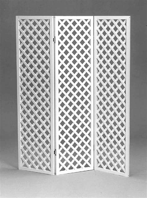 Lattice Room Divider 3 Panel Lattice Divider Screen Hahn Event Rental