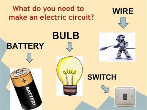 how to make a electric circuit electric circuits