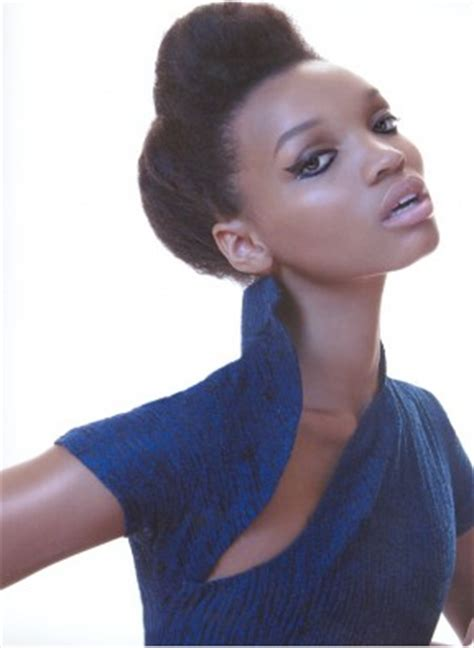 bump updo hairstyles for black women pinned up with a bump black natural hair updo updo