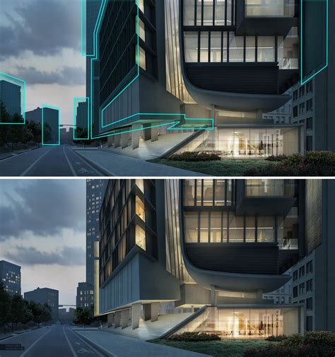 tutorial photoshop architecture day to night all photoshop visualizing architecture